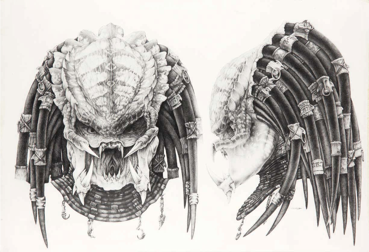 Predator Face Drawings stooges And Have