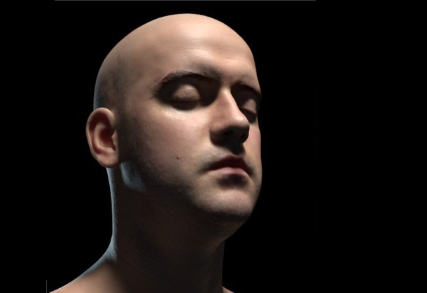 Infinite Realities Releases Detailed Free Head Model Cg