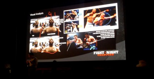 EA's TJ Galda demonstrates the effect of a movie-style workflow on the look of Fight Night Champion.