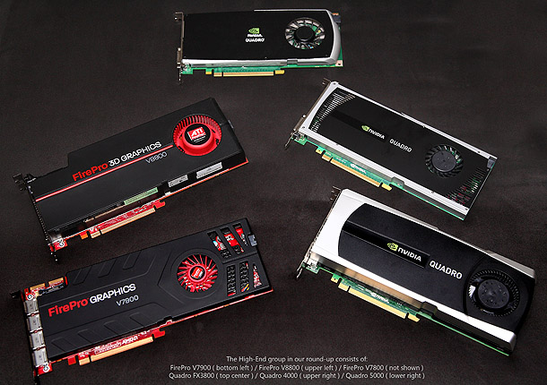Review: Professional GPUs – Nvidia vs AMD 2011 | CG Channel