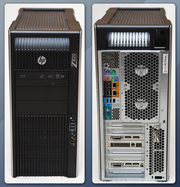 Review: HP Z820 workstation | CG Channel