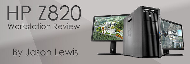 Review: HP Z820 workstation   CG Channel