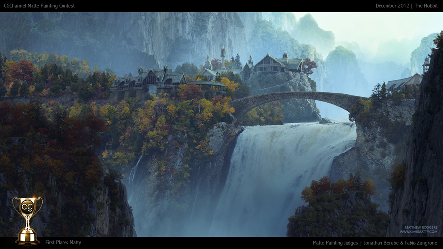 Matte Painting | December | CG Channel