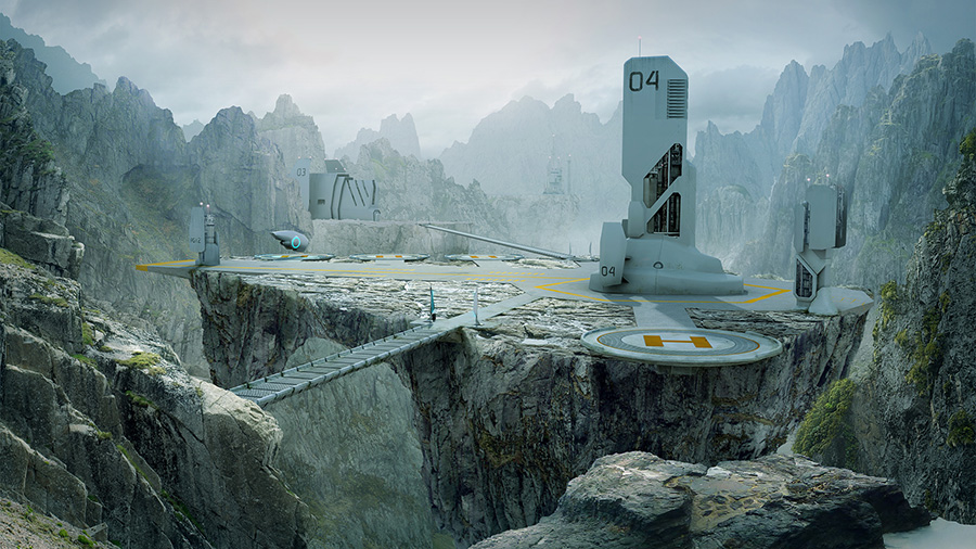 Matte painting february cg channel for Matte painting