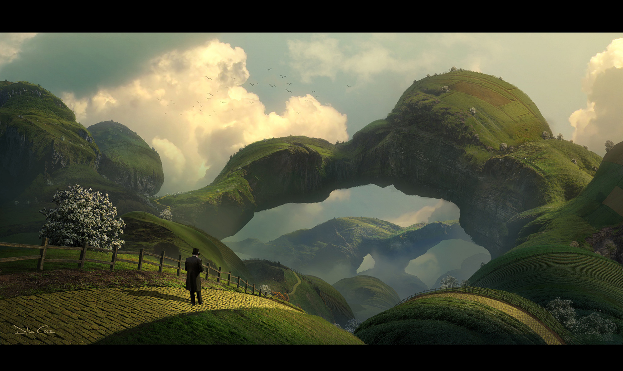 Q a dylan cole cg channel for Matte painting