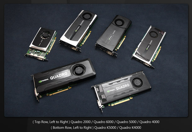 Group test: AMD and Nvidia professional GPUs 2013 | CG Channel