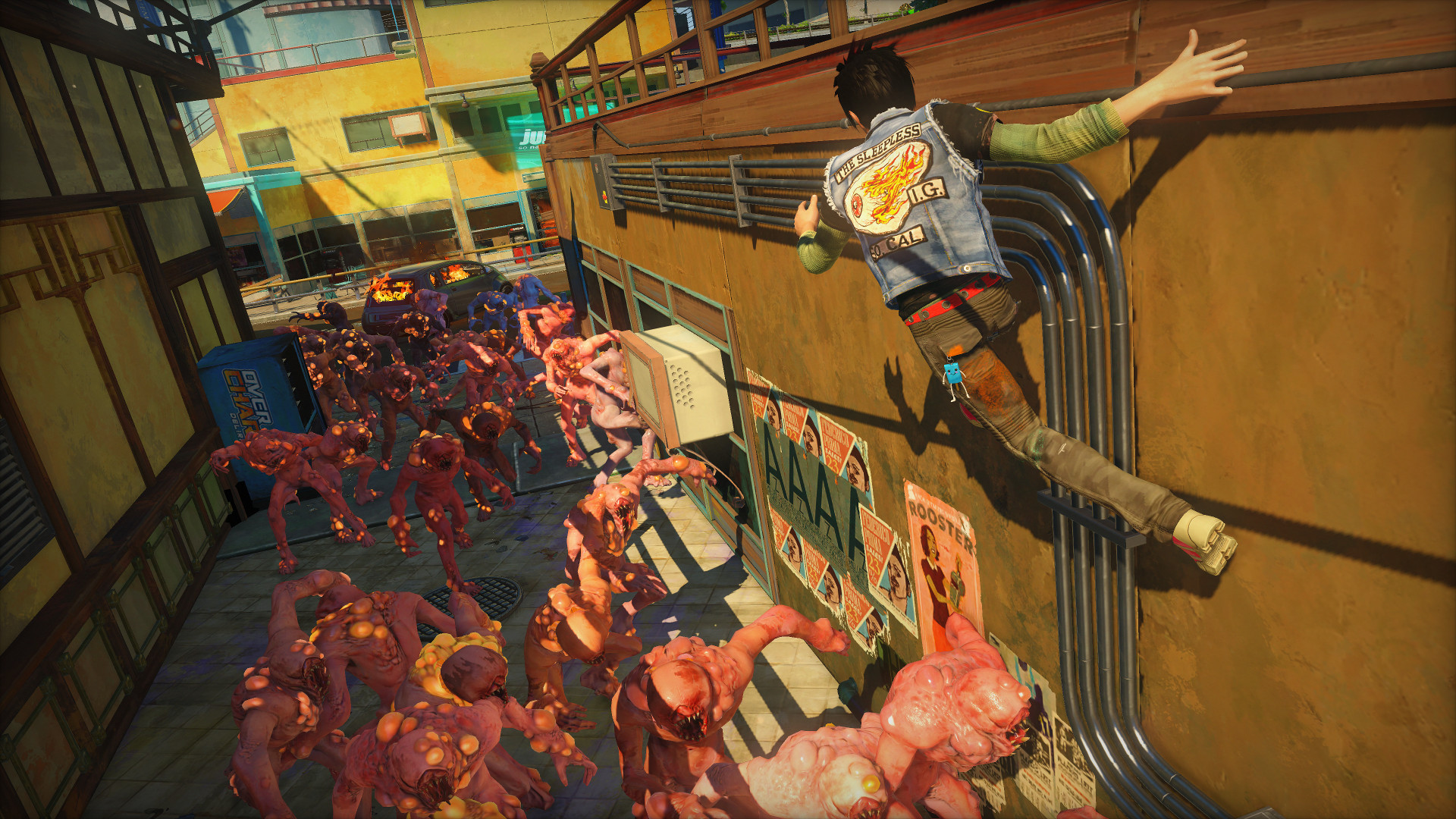 Sunset Overdrive Turning Mayhem Into Art Cg Channel