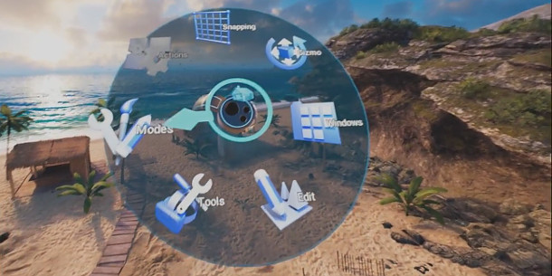 Epic Games unveils new VR editing tools in Unreal Engine