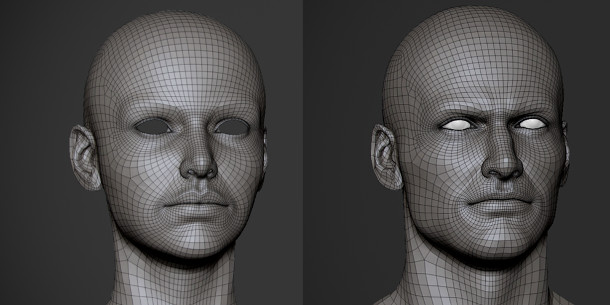 Get Javier Zuccarino S Free Male And Female Base Meshes