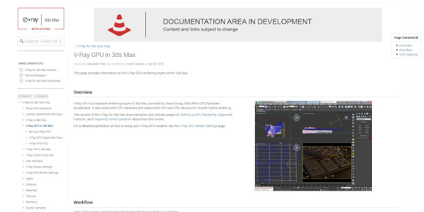 Online documentation for V-Ray Next for Max goes live | CG Channel