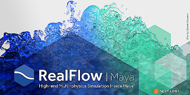 Next Limit releases RealFlow | Maya 1 1 | CG Channel