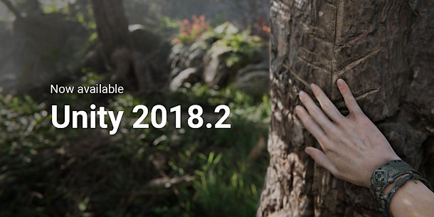 Unity Technologies releases Unity 2018 2 | CG Channel