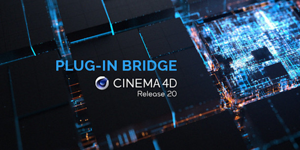 Insydium's Bridge tool loads old Cinema 4D plugins in R20
