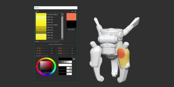 See the new ZBrush features unveiled at ZBrush Summit   CG Channel