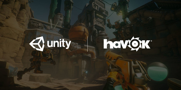 Real-time ray tracing, Havok physics due in Unity this year