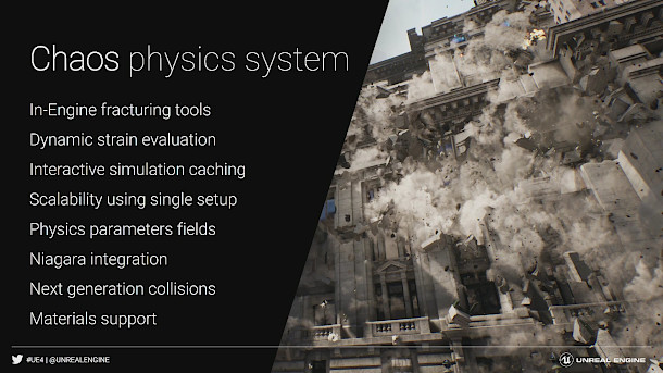 Check out Chaos, UE4's new 'Hollywood physics' system | CG