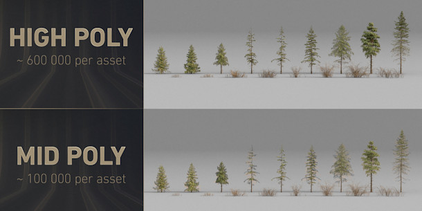 Download 24 free terrain assets and 17 free tree models | CG Channel