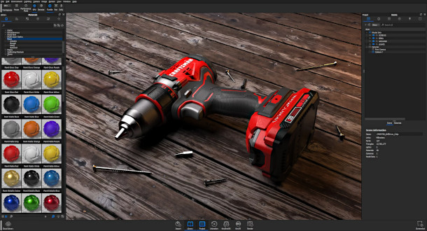 Modo, KeyShot and Blender to support RTX-based rendering